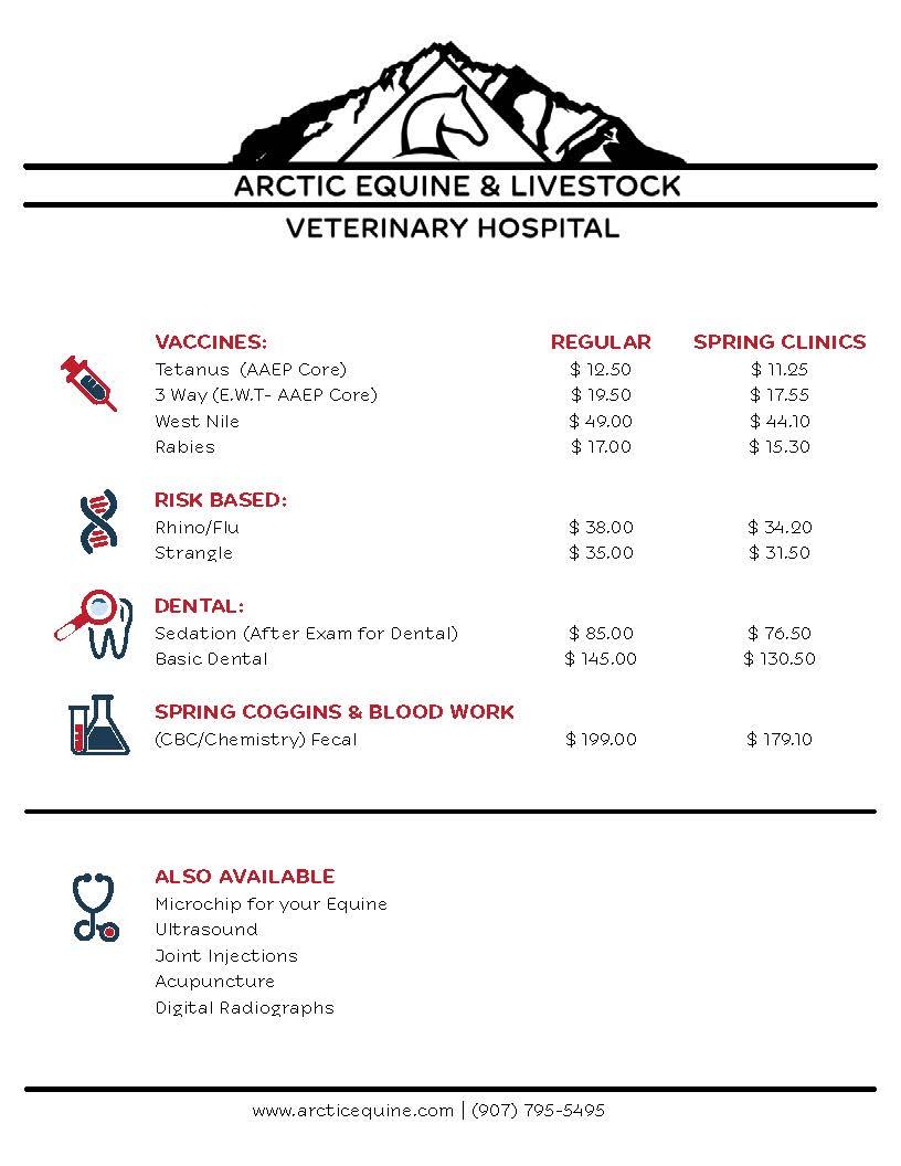 Arctic Equine & Livestock Flyer