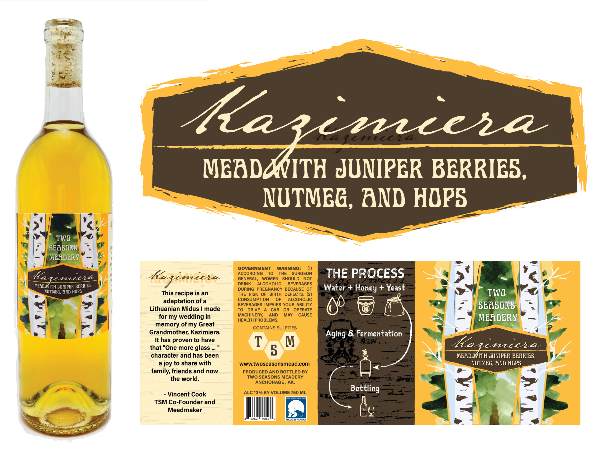 Two Season's Meadery Kazimiera