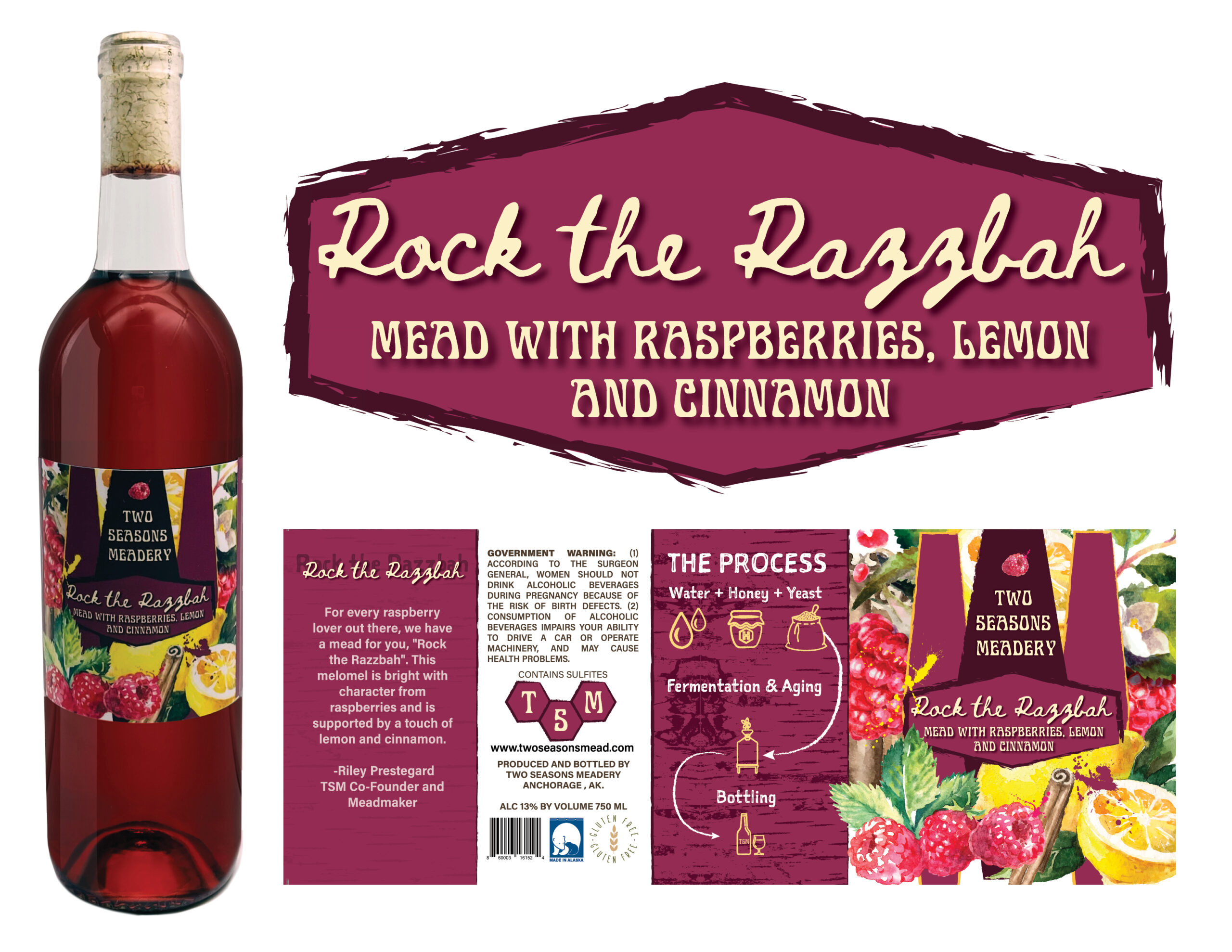 Two Season's Meadery Rock the Razzbah